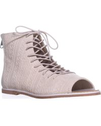 Kelsi Dagger Brooklyn - Brooklyn Hendrix Gladiator Sandals, Sea Salt - Lyst