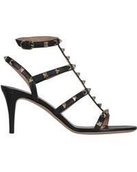 Valentino - Garavani Rockstud Sandals - Lyst