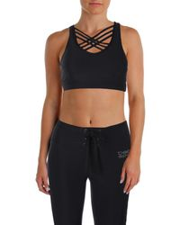 Bebe - Womens Yoga Fitness Sports Bra - Lyst