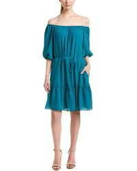 Ella Moss - Off-the-shoulder Shift Dress - Lyst