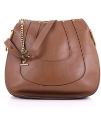 Chloé - Pre Owned Hayley Hobo Leather Large - Lyst dc4f43e85a