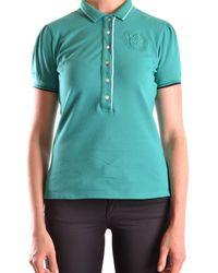 Etiqueta Negra - Women's Green Cotton Polo Shirt - Lyst