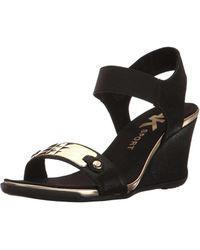 Anne Klein - Womens Latasha Open Toe Casual Platform Sandals - Lyst