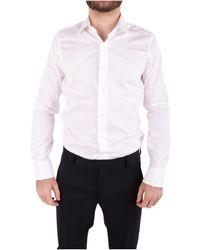 Emanuel Ungaro - Men's White Cotton Shirt - Lyst