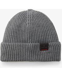 Bogner - Vasco Knitted Hat In Anthracite Melange - Lyst