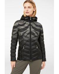 Bogner - Macy Lightweight Down Jacket In Black/gray - Lyst