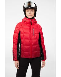 Bogner - Wendy Ski Jacket In Red/black - Lyst
