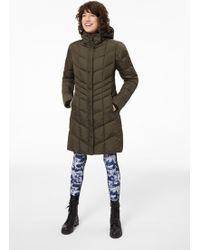 Bogner - Kiara Down Coat In Olive Green - Lyst
