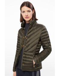 Bogner - Diana Lightweight Down Jacket In Khaki Green - Lyst