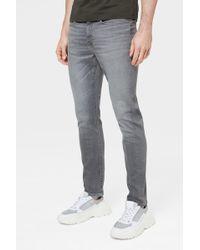 Bogner - Steve Slim Fit Jeans In Washed Grey - Lyst