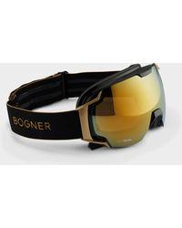 2d701f310d4 Bogner - Just-b Gold Ski goggles In Black - Lyst