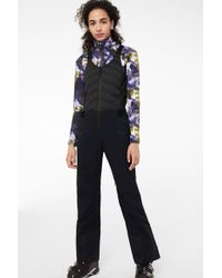 Bogner - Caila Ski Trousers With Bib In Navy Blue - Lyst