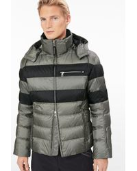 Bogner - Tim Down Ski Jacket In Olive Green/black - Lyst