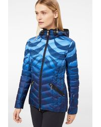 Bogner - Macy Lightweight Down Jacket In Navy Blue/light Blue - Lyst