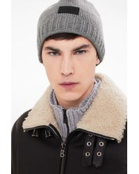Bogner - Knitted Hat Freddy In Husky Grey - Lyst