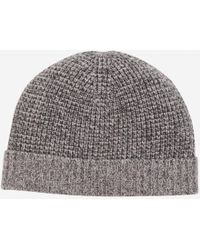 Bonobos - Wool Cashmere Waffle Knit Hat - Lyst