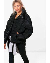 Boohoo - Boutique Oversized Padded Jacket - Lyst