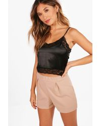Boohoo - Smart Casual Shorts - Lyst