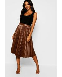 2c0368ddc4 Pleated Skirts - Women's Designer Pleated Skirts - Lyst