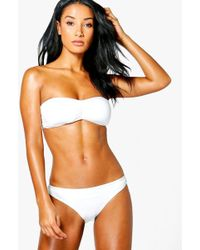 Boohoo - Mix And Match Fixed Brief - Lyst