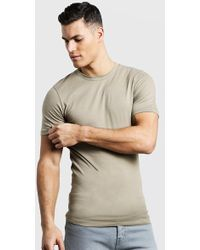 Boohoo - Muscle Fit Crew Neck T Shirt - Lyst