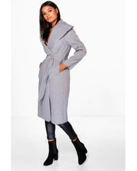 34829c044 Belted Shawl Collar Coat