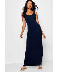 Boohoo - Maxi Dress - Lyst