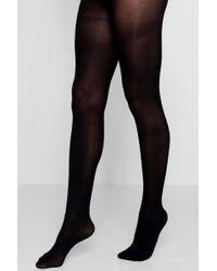 6f1a499cbb25a Lyst - Gipsy Luxury 100 Denier Opaque Tights in Black