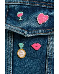 Boohoo - Jessica Team Bridge Hen Party Pin Badge Set - Lyst