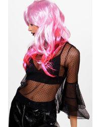 Boohoo - Ombre Mermaid Long Hair Wig - Lyst