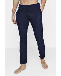 Boohoo - Towelling Lounge Trousers - Lyst