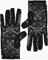 Boohoo - Lexi Short Lace Gloves - Lyst