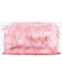 aeca0d324d3f Boohoo - Emily Faux Fur Zip Top Cross Body Bag - Lyst