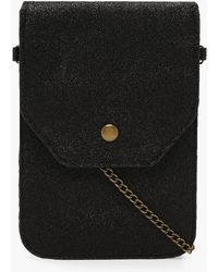 Boohoo - Messenger Bag With Chain - Lyst