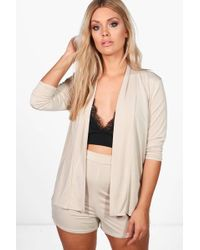 Boohoo | Plus Bethany Short And Blazer Co-ord Set | Lyst