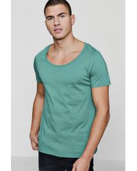 50c8cb54 Lyst - Boohoo Basic V Neck T Shirt in Natural for Men