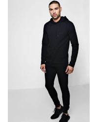 Boohoo - Man Signature Muscle Fit Hooded Tracksuit - Lyst