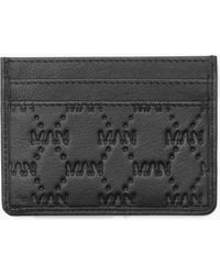 BoohooMAN - Real Leather Man Emboss Saffiano Wallet - Lyst