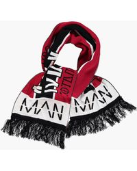 Boohoo - Oversized Man Football Scarf - Lyst