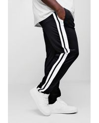 Boohoo - Big And Tall Skinny Fit Man Signature Joggers - Lyst