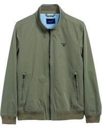 4e9962744b GANT New Hampshire Jacket in Green for Men - Lyst