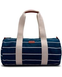 GANT - O2. Striped Weekend Bag - Lyst