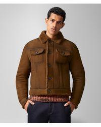 Bottega Veneta Jacket In Shearling