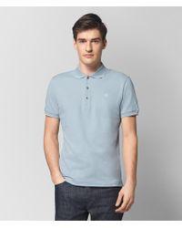 Bottega Veneta - Dark Arctic Cotton T-shirt - Lyst