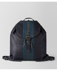 Bottega Veneta - Multicolour Intrecciato Club Lamb Backpack - Lyst