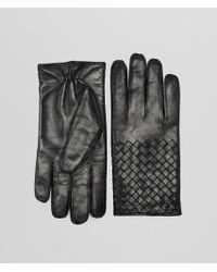 Bottega Veneta - Nero Nappa Glove - Lyst