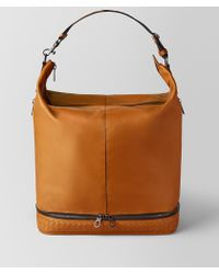 Bottega Veneta - Orange/nero Butter Calf Mi-ny Bag - Lyst