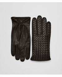 Bottega Veneta - Gloves In Espresso Nappa - Lyst