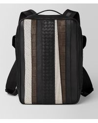 Bottega Veneta - Nero Nappa/precious Mix Strade Brick Backpack - Lyst