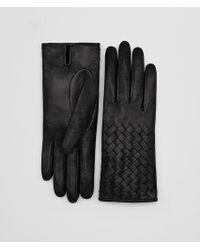 Bottega Veneta - Glove In Nero Nappa - Lyst